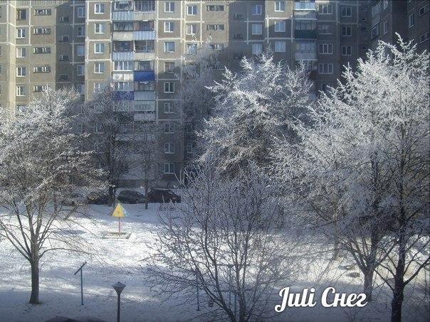 Снег с шоколадом
